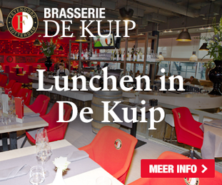 Lunchen in De Kuip?